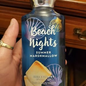 NWT B&B WORKS SHOWER GEL BEACH NIGHTS